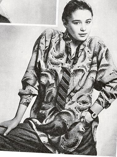 23 года назад Фандера начала сниматься для модных журналов.