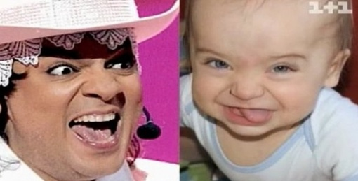 .. И выражение лица почти одинаковое... Фото: ТСН