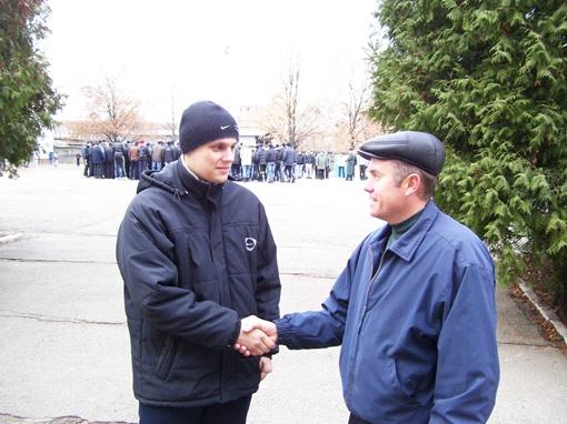 Выпускник юрфака Кирилл Мишко пойдет служить, чтобы стать милиционером.