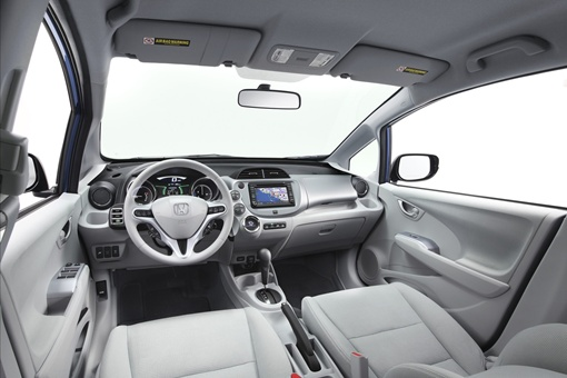 Fit EV будет доступен только в одном цвете: Reflection Blue Pearl