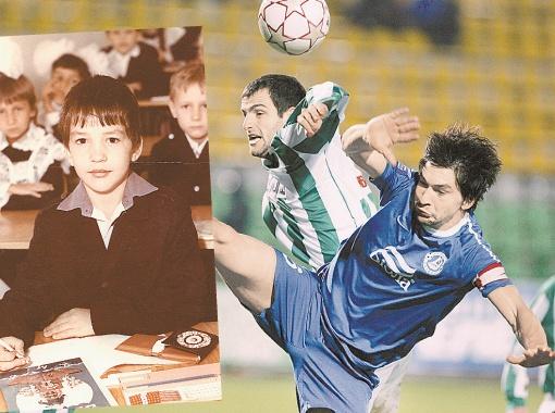 Кто бы мог подумать, что маленькому Андрею Русолу занятия восточными единоборствами пригодятся и в футболе? А вот смотрите на нижнее фото - Жан-Клод Ван Дамм