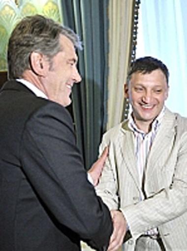Виктор Ющенко был в восторге от сироты-самородка.