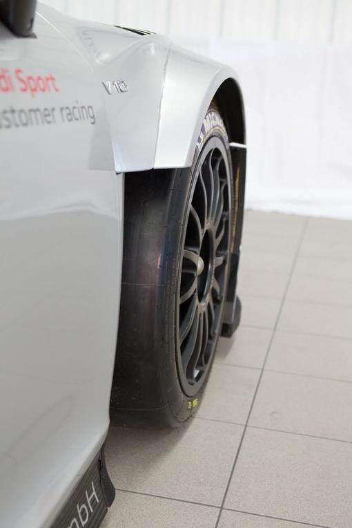 За счет оптимизации системы охлаждения передних колес была повышена устойчивость во время гонки