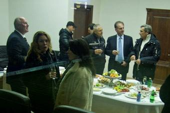 Для чиновничьей элиты Одессы открытие новой арены также стало важным событием