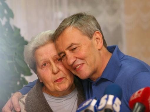 Леонид Михайлович утверждал, что Святая Мария больше всего похожа на киевскую бабушку.