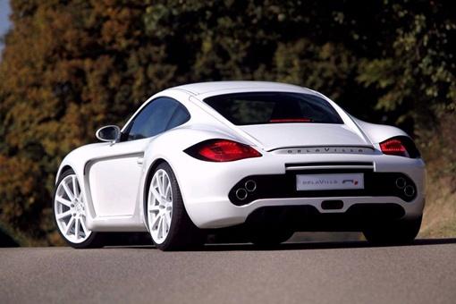 Porsche Cayman R1 стал белоснежно-белым принцем благодаря французскому ателье
