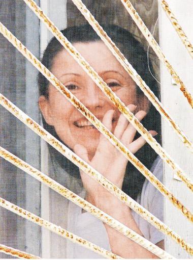 ...и в 2001-м, когда она попала в СИЗО по обвинению в контрабанде российского газа.
