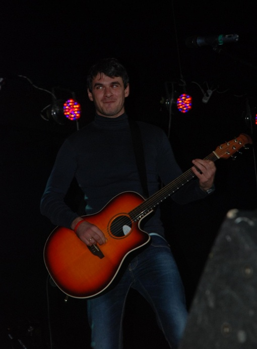 Артем на концерте. Фото