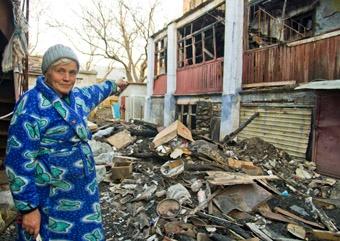 – У меня сгорела вся квартира, – сетует Зоя Михайловна