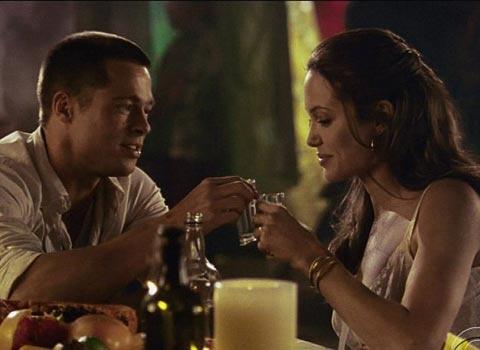 Энджи и Брэд познакомились на съемках фильма