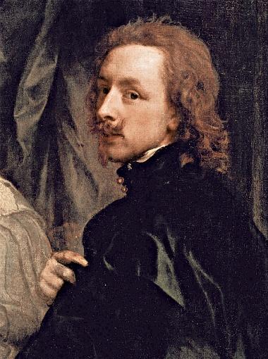Антонис Ван Дейк. Автопортрет 1623 года.