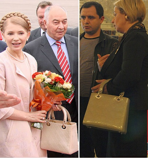 Сумки-близнецы Тимошенко и Герман. Фото с сайта glianec.com