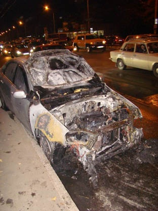 В регионе продолжают гореть автомобили. Фото с сайта revisor.od.ua