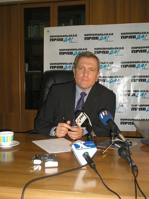 На время работы Владимира Андреевича выпало празднование 350-летия города.