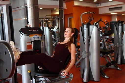 Ирина Кучер, к примеру, старается посещать спортивное заведение не реже пяти раз в неделю. Фото: shakhtar.com