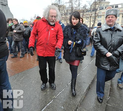 Алексей Венедиктов и Тина Канделаки. Фото: Михаил ФРОЛОВ