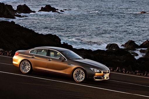 BMW 6 Gran Coupe является стопроцентным седаном, его создатели всячески подчеркивают его принадлежность к модному сегменту четырехдверхных купе