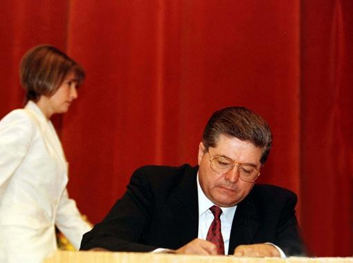 В материалах американского дела против Лазаренко Юлия Тимошенко фигурирует как сообщница.