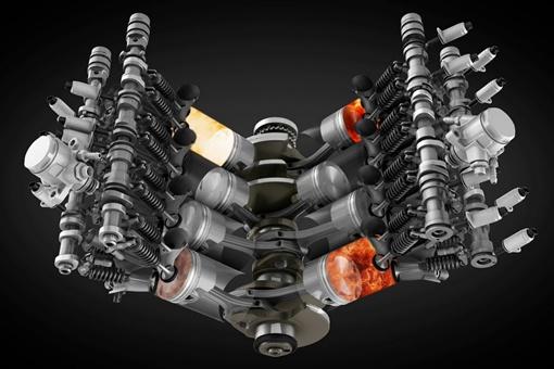 Максимальная мощность нового двигателя - 500 л.с. при 6000 оборотов в минуту. ФОТО: avtomaniya.com