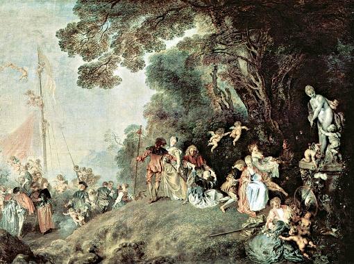 Антуан Ватто. Паломничество на остров Киферу. 1718.