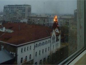 Так накануне приезда президента Таджикистана в Днепропетровск горел отель