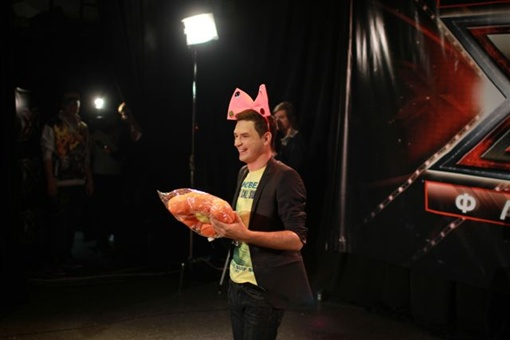 Романченко принимает подарки