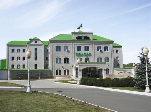 Здание фармацевтической компании