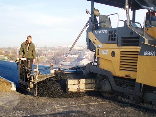 Идет строительство новой Симферопольской объездной
