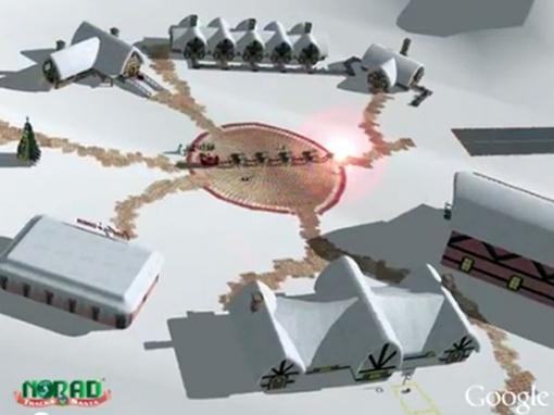 В канун западного Рождества Объединенное командование воздушно-космической обороны североамериканского континента (НОРАД) по традиции начинает отслеживать передвижение Санта-Клауса