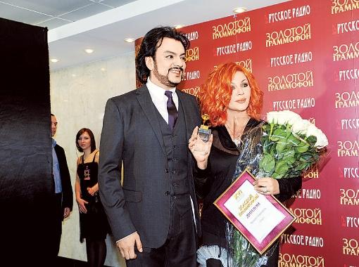 Филипп Киркоров разделил свою награду с автором песни