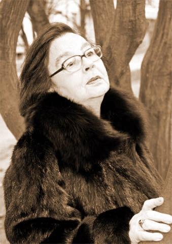 Актриса театра имени Марии Заньковецкой Любовь Каганова.  Фото с сайта zankovetska.com.ua.