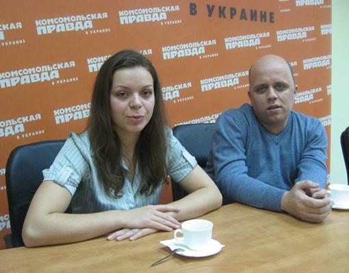 Виктория Сокоова и Юрий Повх