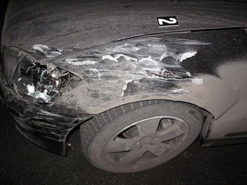 Как видим авто пострадало не сильно.