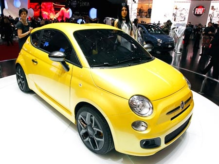 Fiat 500. ФОТО Global Look Press