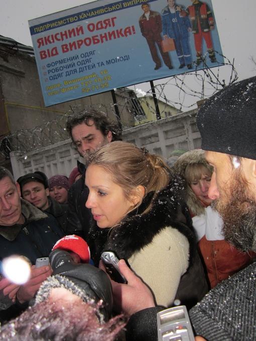 Интервью Евгении Тимошенко. Фото автора