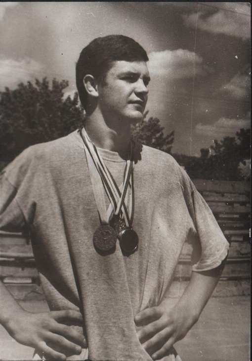Виктор после победы на Чемпионате Украины в 1994 году