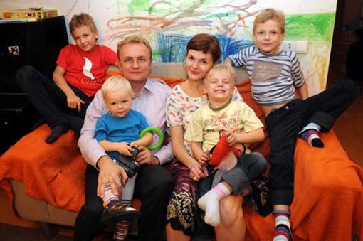 Андрей Садовый - самый многодетный мэр областного центра