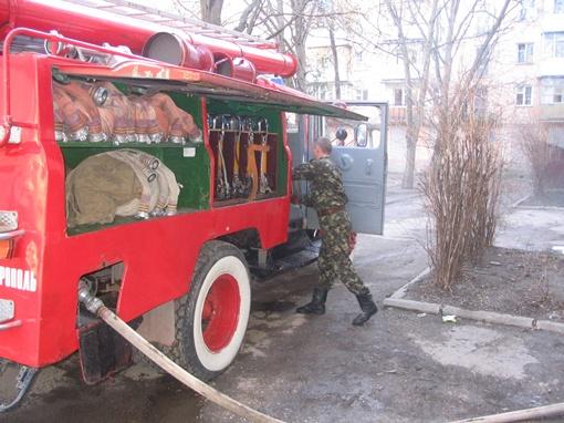 Пожарные приехали на ложный вызов. Фото КП