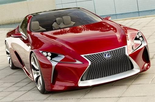 Lexus наконец-то показал концепт спортивного автомобиля LF-LC.Фото с сайта http://avtomaniya.com