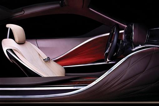 Концепт был разработан в Calty - студии дизайна Lexus в Калифорнии.