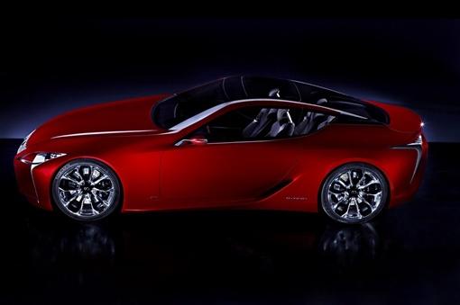 Это превью нового роскошного купе 2+2, который Lexus рассматривает как производственную версию в будущем