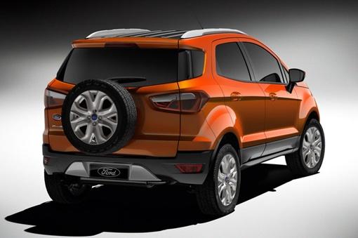 Ford представил концепт своего нового маленького кроссовера. Фото auto.mail.ru.