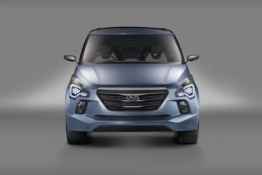 Небольшой минивэн под кодовым названием HND-7 построен на платформе компактного Hyundai ix20