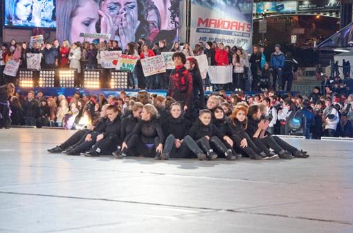 Танцевальное шоу покорило сердца запорожцев