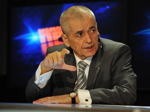 Главный санитарный врач России Геннадий Онищенко.