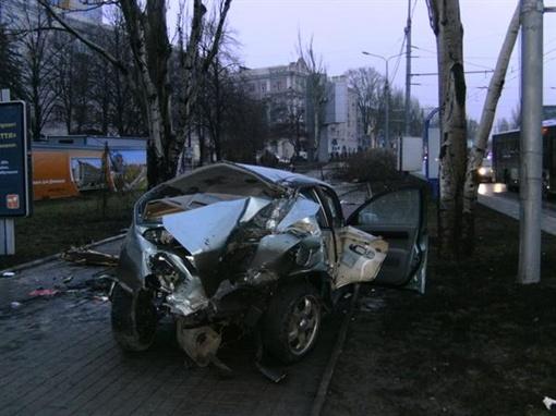 Водитель погиб на месте. Фото ГАИ