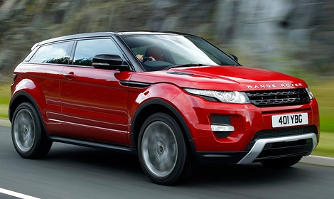 Range Rover Evoque - лучший среди кроссоверов. Фото автопроизводителя