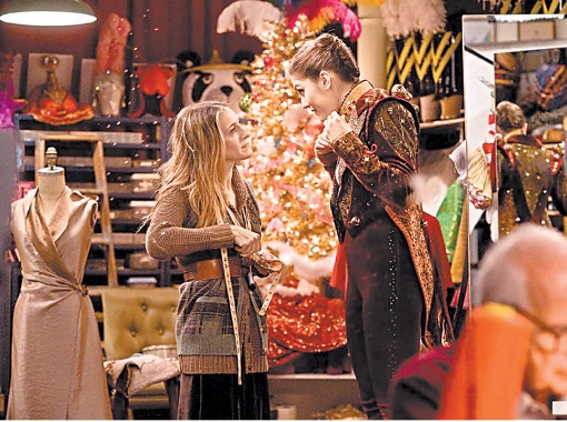 ЦИТАТА: - Здесь звезд больше, чем в реабилитационном центре. Кого ты поцелуешь в эту ночь?