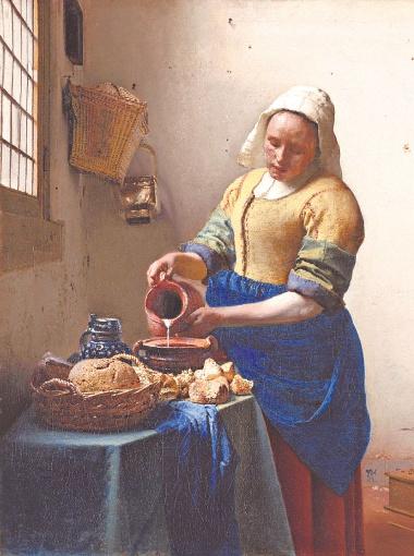 Ян Вермеер. Молочница. 1658 год.
