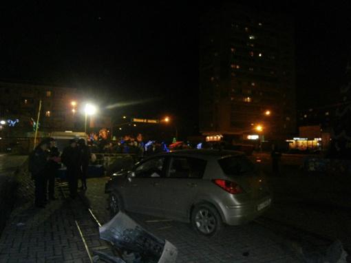 Место аварии. Фото луганского управления МВД
